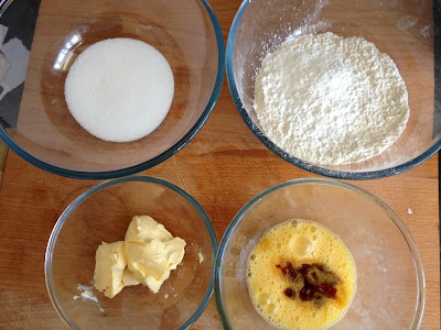 ThatRedheadSaid : Baking with Duerr's : Jammy Biscuits ingredients