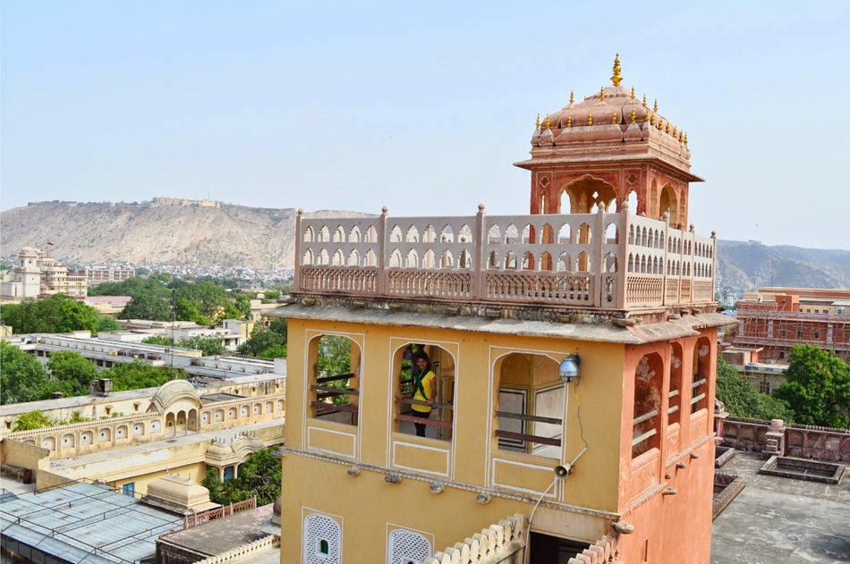 Top of Hawa Mahal