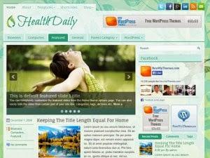 HealthDaily - Free Wordpress Theme