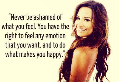 Inspirational Demi Lovato Quote