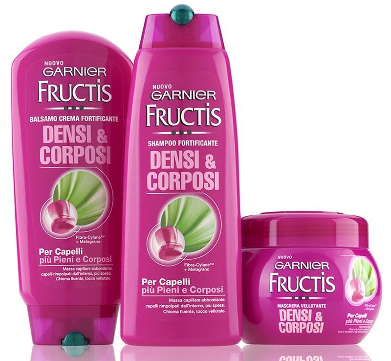garnier fructis densi & corposi, per capelli da favola!