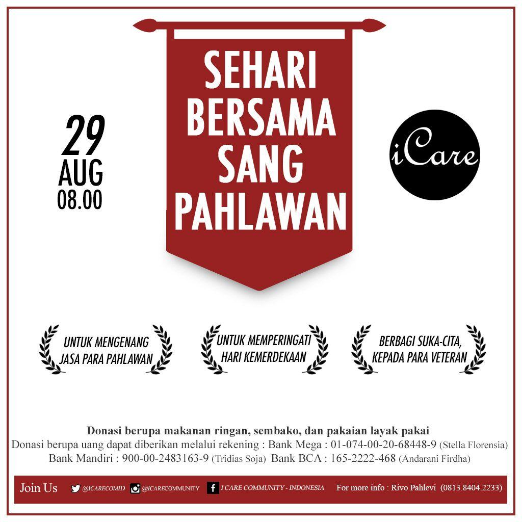 Agenda Agustus 2015