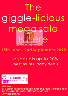 Giggles Babystore Sale 2012