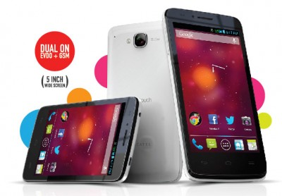 Alcatel Onetouch D920, Jelly Bean Dual Core 5 inci CDMA EVDO+GSM