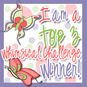 I made Top 3 at Whimsical Designs