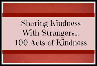 sharing kindness with strangers