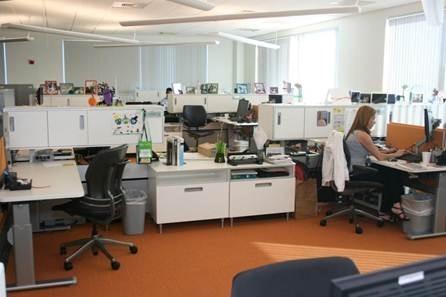 Microsoft como se trabaja en las oficinas de la for Oficinas de microsoft