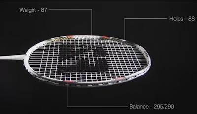perlengkapan raket badminton bulutangkis