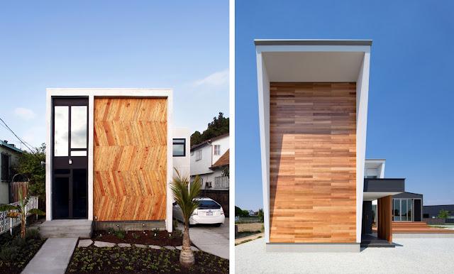 Revestimientos de madera en exterior espacios en madera - Recubrimiento para fachadas ...