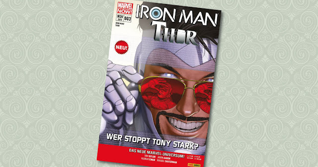 Iron Man Thor 3 Panini Cover