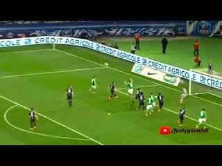 اهداف مبارة: باريس سان جرمان 4 × 1 سانت ايتيان  : كأس فرنسا