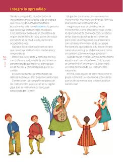 Integro lo aprendido - Educación Artística 6to Bloque 5 2014-2015