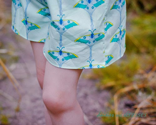 """Flip this Pattern"": Oliver and S, Croquet Dress {sewn by Daisies and Dresses}"