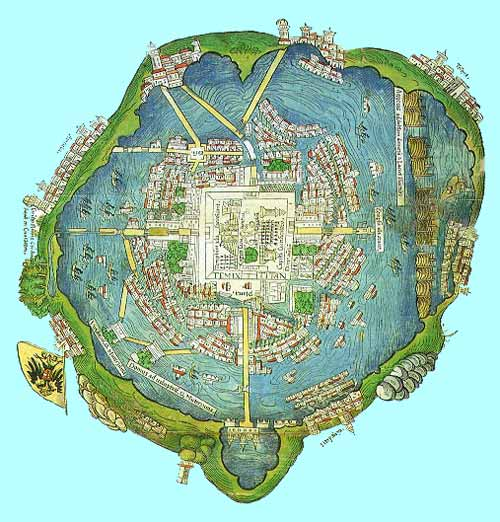geography of tenochtitlan Lake texcoco is best known as where the aztecs built the city of tenochtitlan geography edit lake texcoco was the lowest-lying of all the lakes.