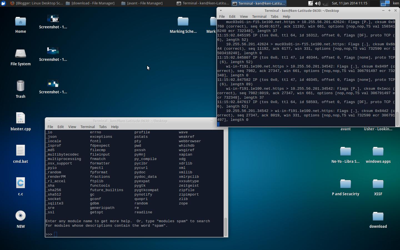 Linux Desktop Screenshots Xubuntu 13 10 Desktop Screenshots