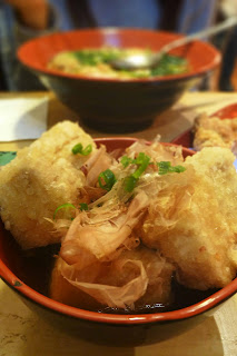 Deep fried beancurd with fish flake image
