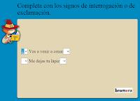 http://www.primerodecarlos.com/SEGUNDO_PRIMARIA/julio/interroga_exclama/Tilde2_.htm