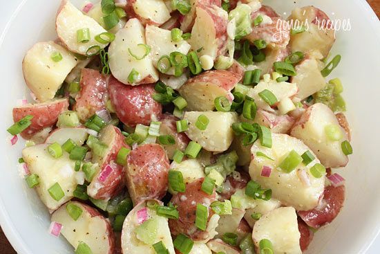 ... Girl: Tasty Tuesdays: Baby Red Potato Salad Perfect for Memorial Day