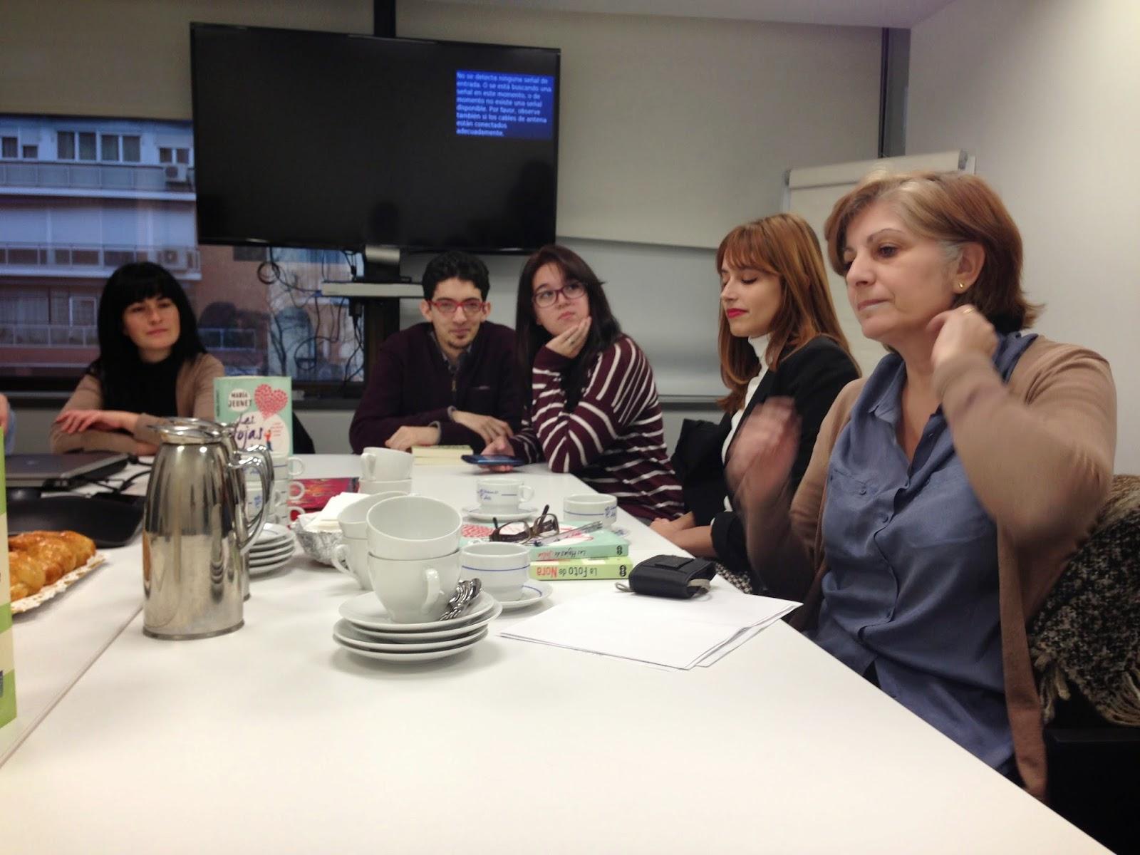 Encuentro con blogueras María Jeunet