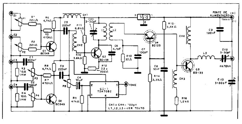 transmissores e receptores am  fm e oc  circuito