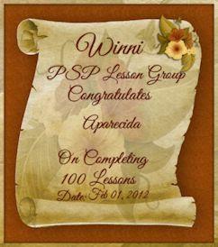 Congratulates_Aparecida_100 Lições Completas.