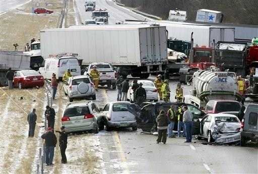 50-vehicle crash on I-75 pileup in Ohio