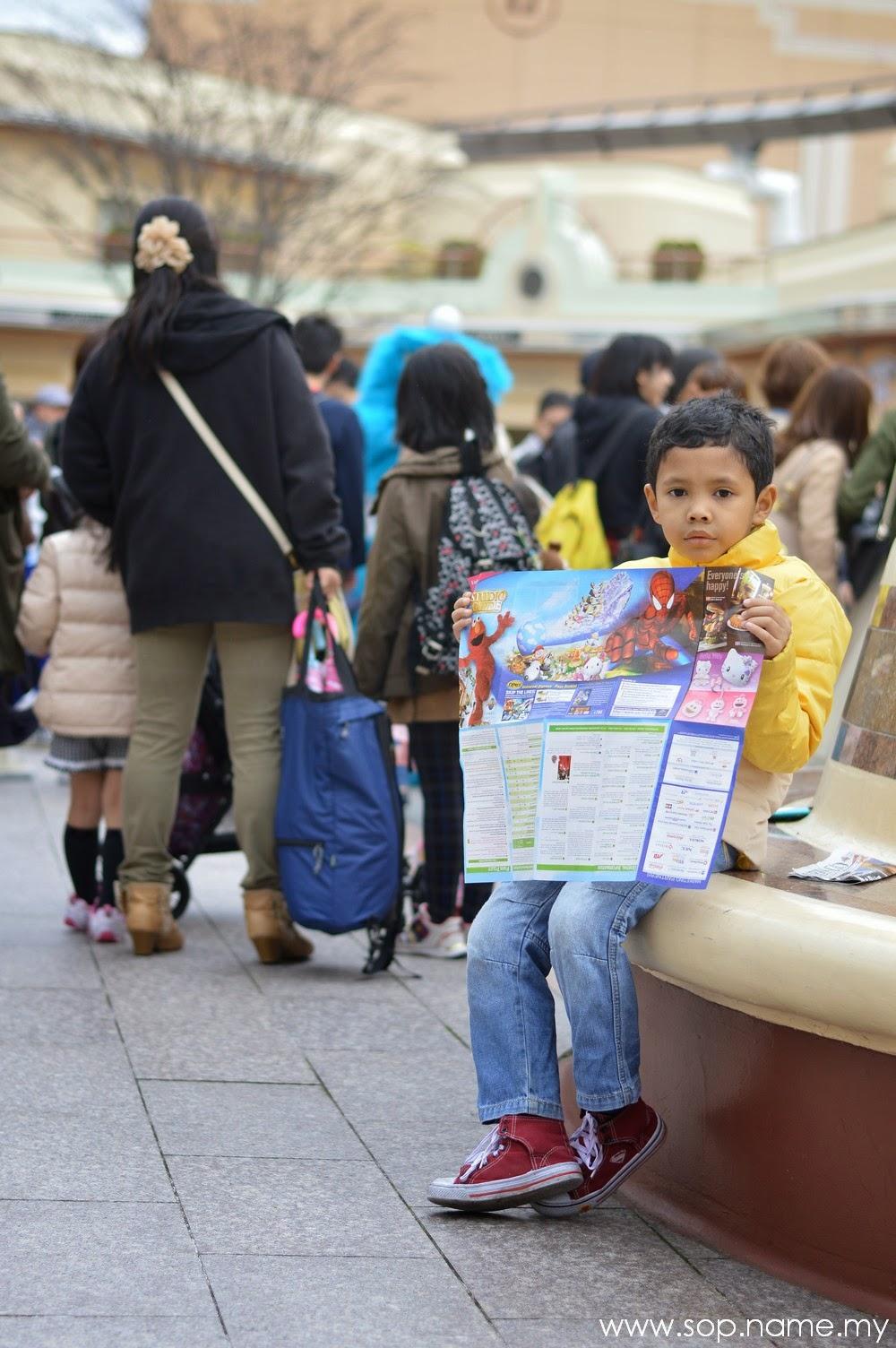 Jalan-jalan ke Osaka - Bahagian 4