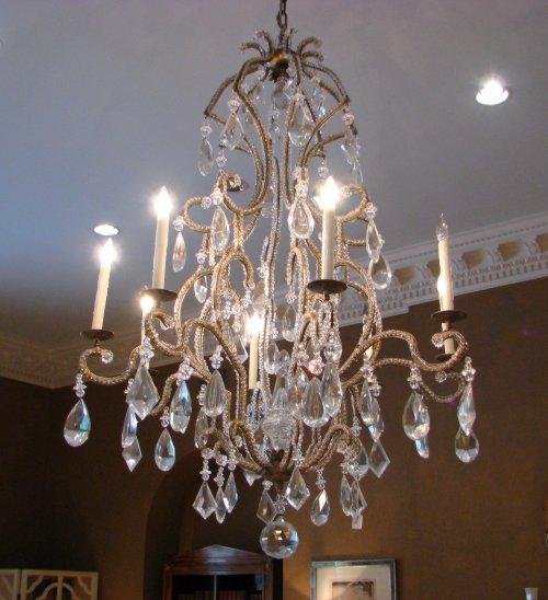 Decorando dormitorios hermosos candelabros colgantes para - Candelabros de pared ...