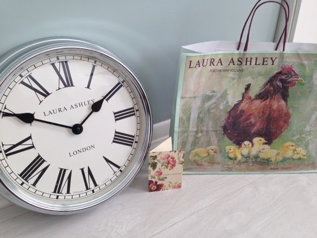 The pursuit of ivy george june 2014 i am sooo happy with my laura ashley clock gumiabroncs Image collections