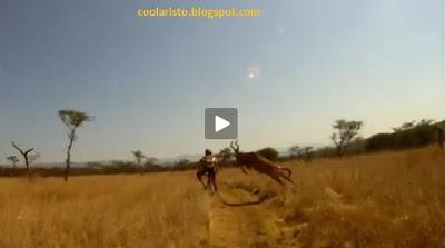 ΒΙΝΤΕΟ: Ένας καλός λόγος να μην κάνεις ποδήλατο στην Αφρική