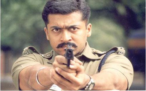 Surya in 'Kakka Kakka' Movie