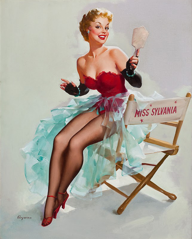 VINTAGE 50s PIN UP GIRLS: March 2013