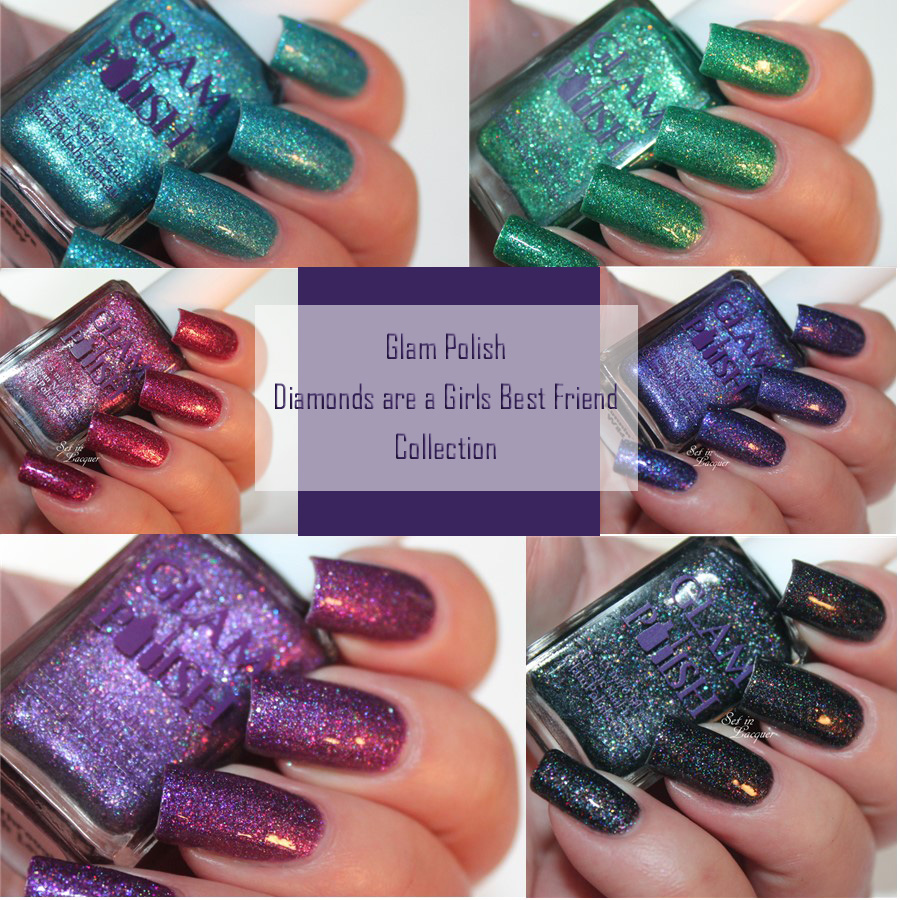 Glam Polish - Diamonds are a Girls Best Friend collection - Set in ...
