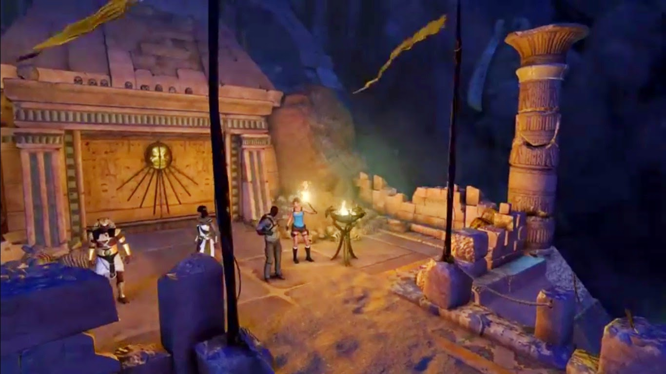 Lara Croft y el Templo de Osiris, ps4, xbox one y pc