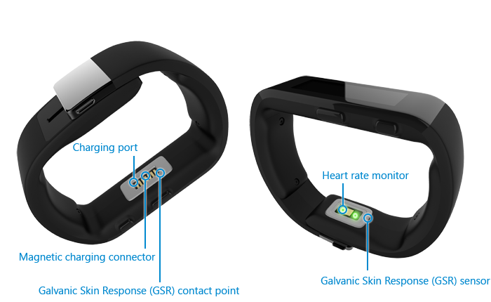 microsoft band specification