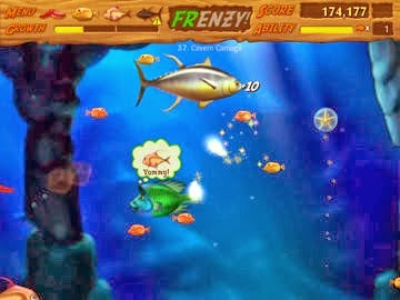 download permainan gratis Feeding Frenzy 2 Shipwreck Showdown