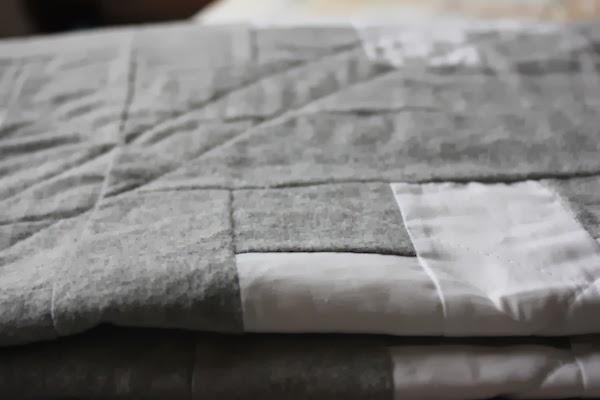 quilt de franela y algodon