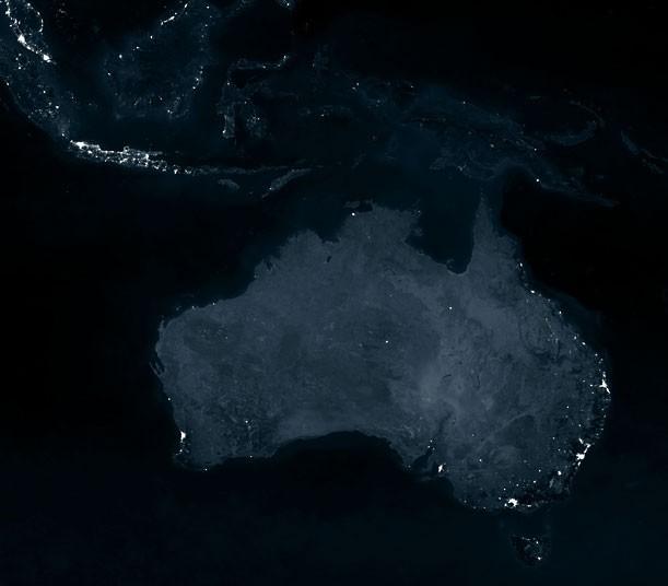 Wow Ternyata Indonesia Di Malam Hari Lebih Berkilau Dibanding Australia [ www.BlogApaAja.com ]