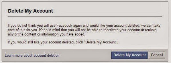 Can I Delete My Facebook Account image photo