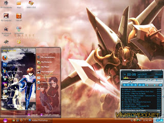 Download 10 tema anime window XP 2012