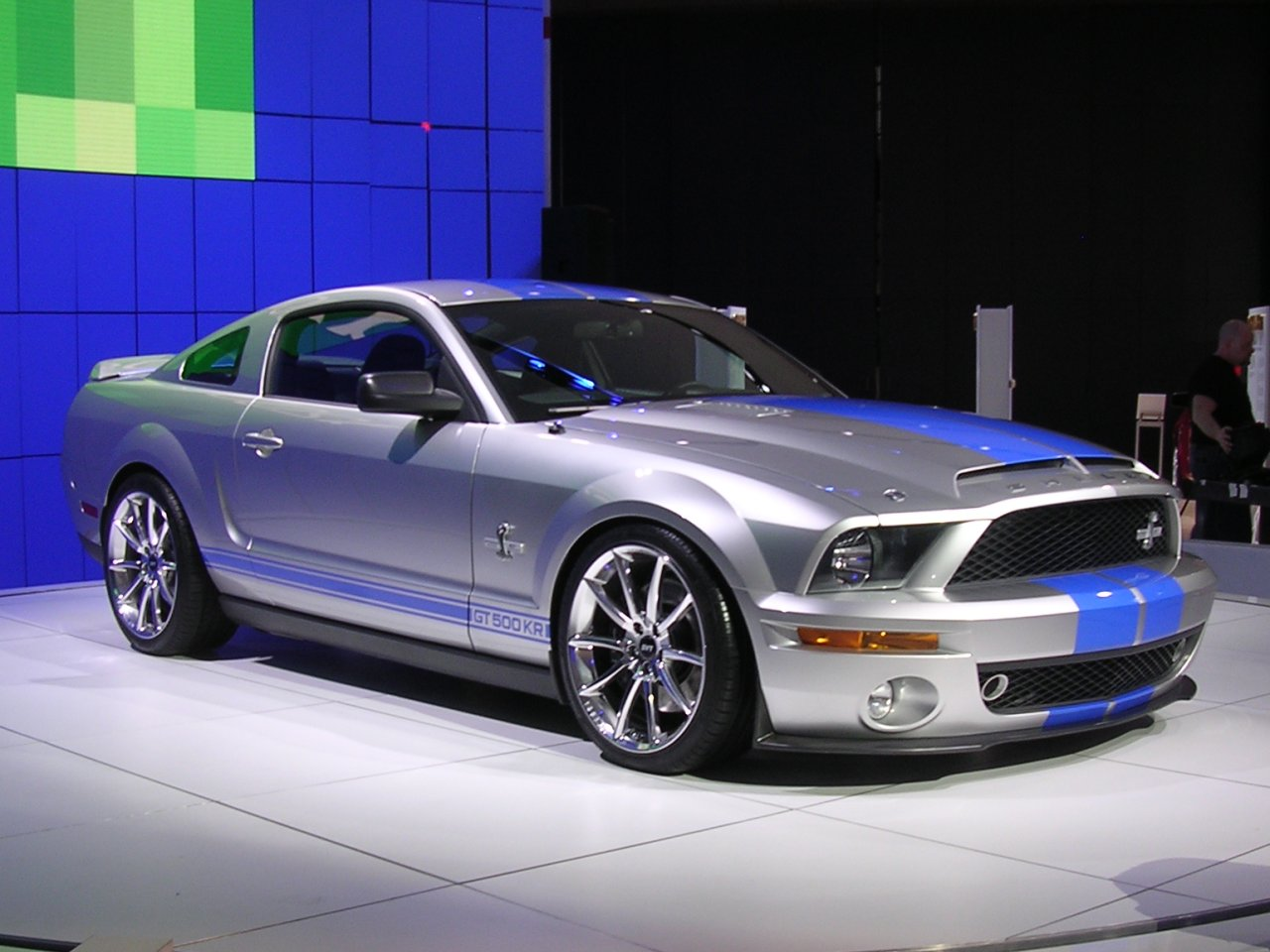 07 mustang shelby: