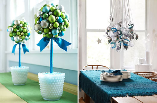 Quick Christmas table decoration inspiration!