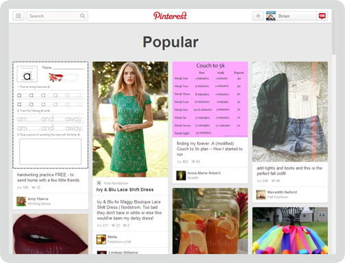 Pinterest Screen 5