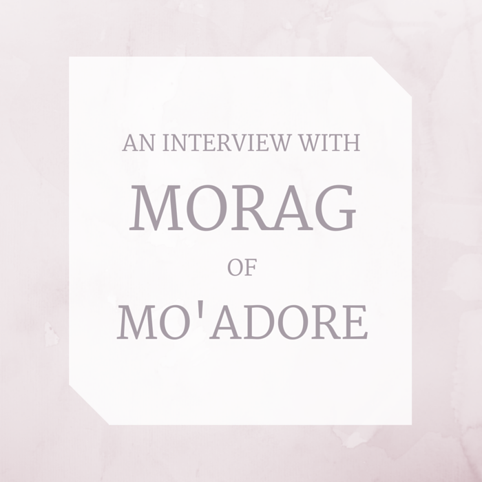 An interview with cruelty-free blogger Morag of mo'adore