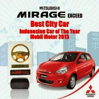 Penghargaan Best City Car Of The Year 2013