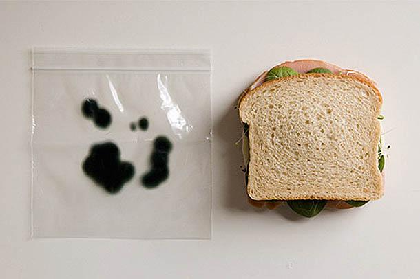 Design de Embalagem - Saco anti-roubo para sandwiches - Packaging Design