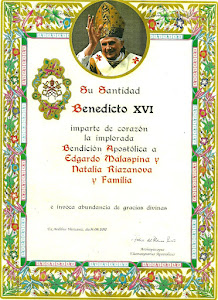 BENDICIÓN PAPAL
