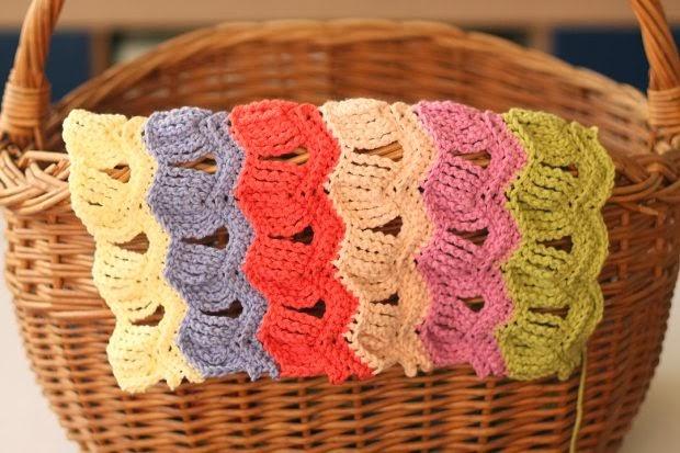 Kleurijk!!! mooie ripple blanket
