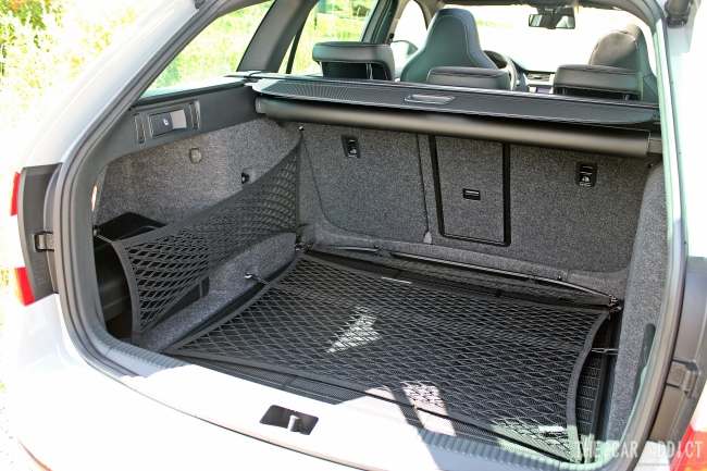 Skoda Octavia RS Trunk Volume 2013