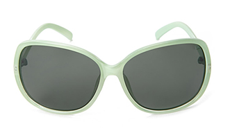 Mint square sunglasses from Forever21